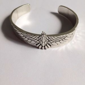 Silver Aguilar Eagle Cuff Bracelet